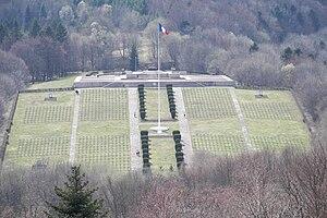 Hartmannswillerkopf - Image: Hartmannsweilerkopf Cemetery