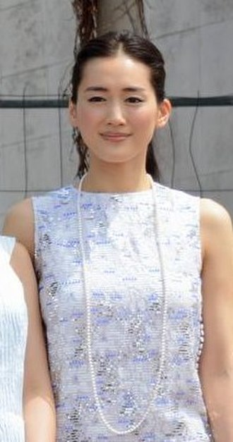 Haruka Ayase - Haruka Ayase at the Cannes Film Festival, May 2015