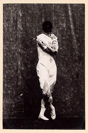 Carnaval (ballet) - Michel Fokine in costume for Carnaval, circa 1910