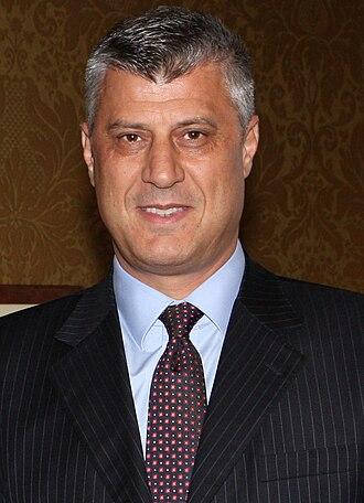 2016 Kosovan presidential election - Image: Hashim Thaçi, 2012