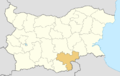 Haskovo Province location map.png