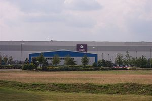 Ocado - Ocado's warehouse in Hatfield