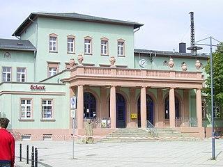 Naumburg (Saale) Hauptbahnhof railway station in Naumburg (Saale), Germany