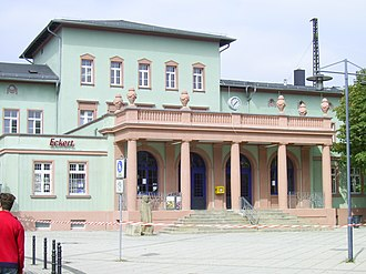 Halle–Bebra railway - Naumburg Hbf