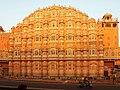 Hawa Mahal at Sunrise, Jaipur - panoramio.jpg