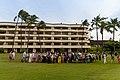Hawaiian Luau dinner at Block Rock Maui, Hawaii (45689930992).jpg