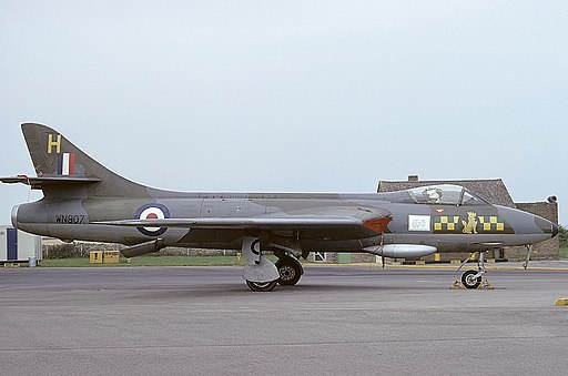 Hawker Hunter F2, UK - Air Force AN1362553