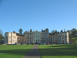 Rowland Hill (MP) - Hawkstone Hall a manor also owned by Hill