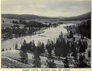 Hayden Valley - Image: Hayden Valley FJ Haynes 1909