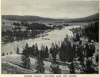 Hayden Valley - Image: Hayden Valley FJ Haynes 1909