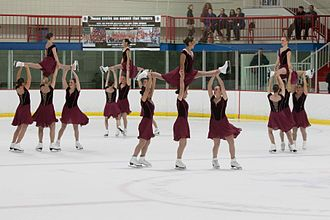 Synchronized skating - The Haydenettes, the 25-time US Synchronized Skating National Champions