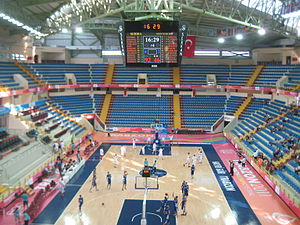 Hayri Gür Arena - Image: Hayri gur spor salonu