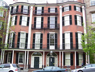 Beacon Hill, Boston - Image: Headquarters House 55 Beacon Street Boston