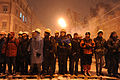 Heavy snow fall on Kiev as the city prepares for the predictably violent attack from the police. December 9, 2013.jpg
