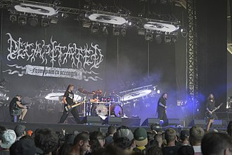 Decapitated (band) - Decapitated at Hellfest in 2017