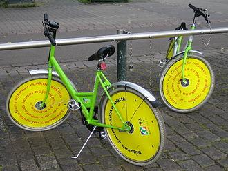 Helsinki City Bikes - First generation (2000 - 2010) city bikes