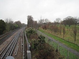 Hendon Park - Northern Line Railway Cutting