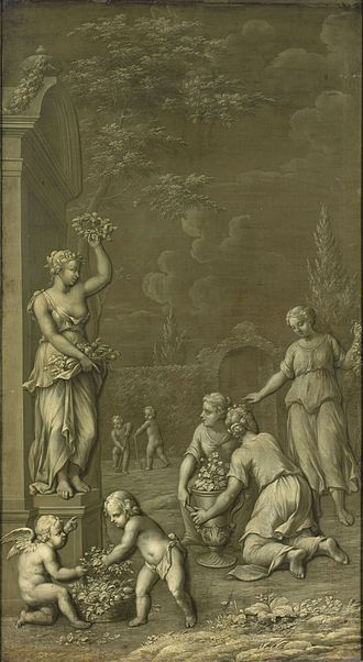 Hendrik Carré II - Grisaille