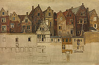 Henri Leys - Houses on the Handschoenmarkt.jpg