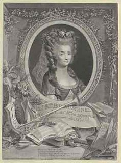 Mademoiselle Beaumesnil French woman opera singer and composer