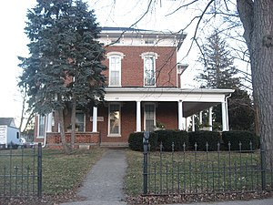 National Register of Historic Places listings in Edgar County, Illinois - Image: Henry Clay Moss House