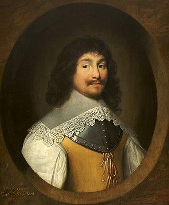 Henry Grey, 1st Earl of Stamford - A 1638 painting of Henry Grey by Cornelis Janssens van Ceulen
