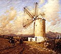 Henry Herbert La Thangue - A Spanish Mill 1921.jpg