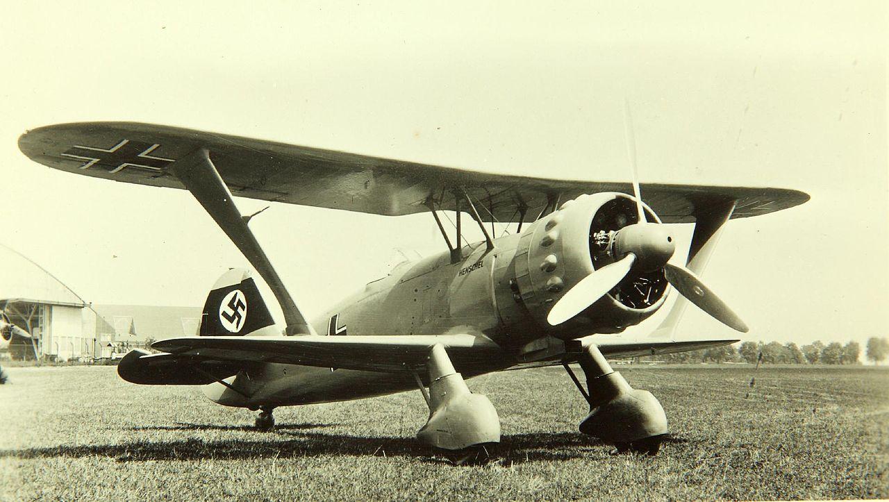 File Henschel Hs 123 V5 Prototype Jpg Wikimedia Commons