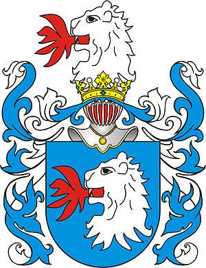 Kęsgailos - Zadora coat of arms, the coat of arms of the family