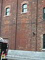 Heritage building, SW corner of Mill and Trinity, Distillery District, 2014 11 05 (3) (15726094825).jpg