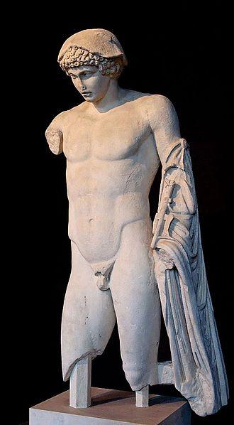 Hermes Ludovisi - The unrestored Anzio Hermes of Ludovisi type