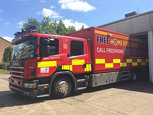 Hertfordshire Fire and Rescue Service - Image: Hertfordshire Fire & Rescue's DEPU
