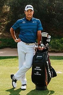 Hideki Matsuyama Japanese professional golfer