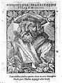 Hieronymus Fracastorius. Woodcut by T. Stimmer, 1589. Wellcome L0013519.jpg