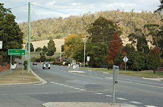 Exeter, Tasmania - West Tamar Highway at Exeter
