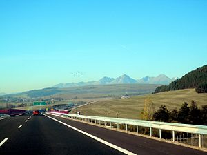 Transport in Slovakia - Highway D1