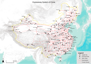 Expressways of China Expressway network for the Peoples Republic of China