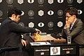 Hikaru Nakamura and Levon Aronian, Candidates Tournament 2016.jpg