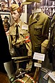 Hitlerjugend uniform, Wehrmacht Volkssturm uniform, Panzerfaust, SS cap, front gendarm, etc. Lofoten krigsminnemuseum (WW2 Memorial Museum) Svolvær, Norway 2019-05-08 DSC00046.jpg