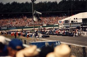 1994 German Grand Prix - The starting grid