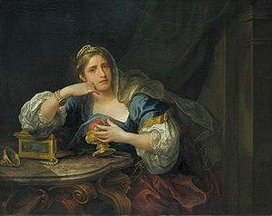 Sigismunda mourning over the Heart of Guiscardo - Image: Hogarth sigismunda