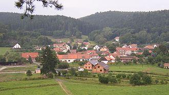 Holštejn - Image: Holštejn (obec)