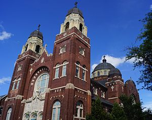 Holy Innocents Church (Chicago) - Image: Holy Innocents Chicago