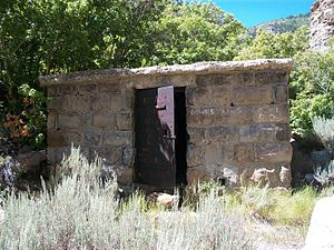 Royal, Utah - A miner's dwelling in Royal, 2010