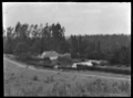 Homestead at Mendip Hills, Hurunui District. View of the back of the house, partially hidden by hedges. ATLIB 283980.png