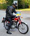 Honda CB 100, Bj. 1974 (2011-09-24 B).JPG