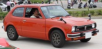 Honda Civic (first generation) - Image: Honda Civic RS