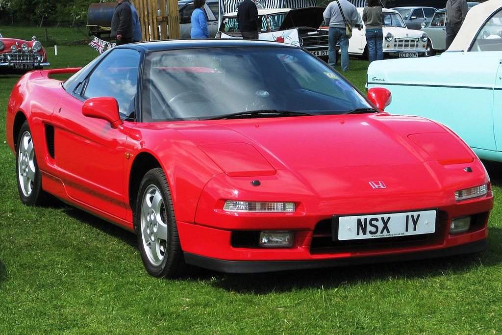 Honda NSX reg 1991 2977 cc.JPG