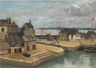 Honfleur, Houses on the Quay
