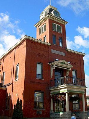 Farnham, Quebec - Farnham town hall